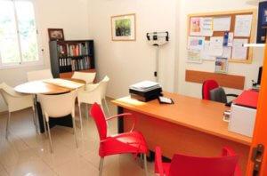 Consultorio de la clínica