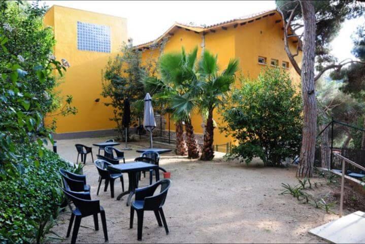Jardín de la clínica